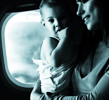 what to pack for baby on plane