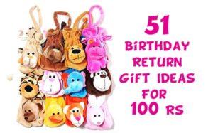 51 Birthday Return Gift Ideas For 100 Rs